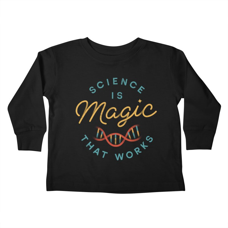 Science is Magic Kids Toddler Longsleeve T-Shirt by csw