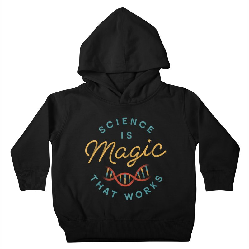 Science is Magic Kids Toddler Pullover Hoody by csw