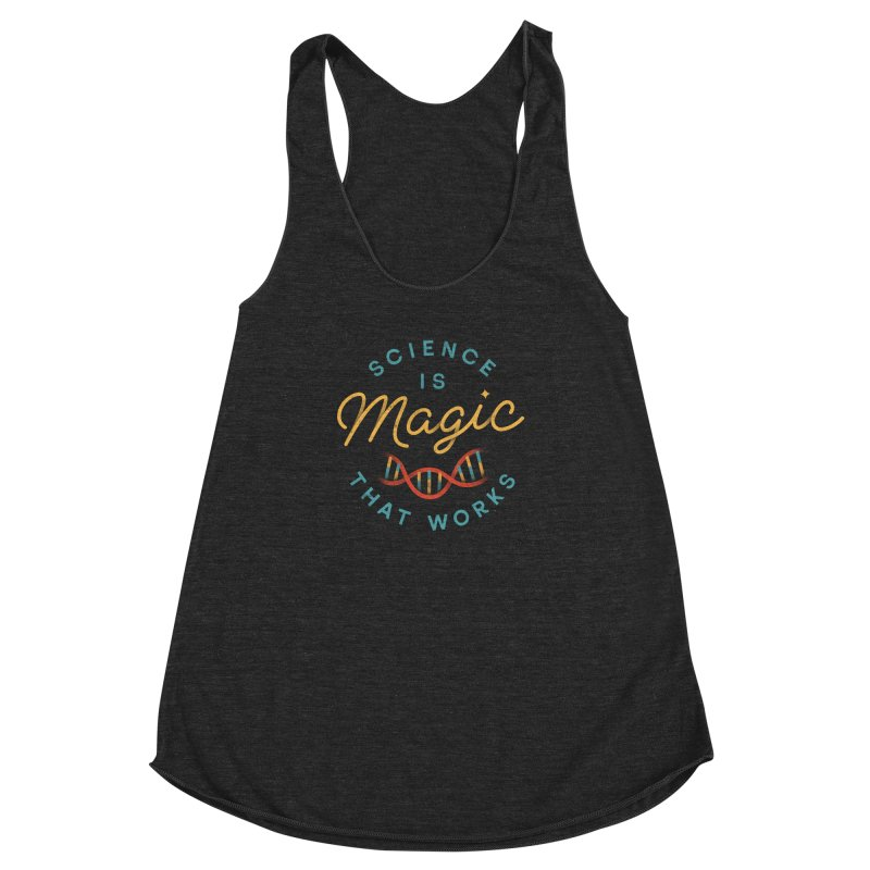 Science is Magic Women's Racerback Triblend Tank by csw