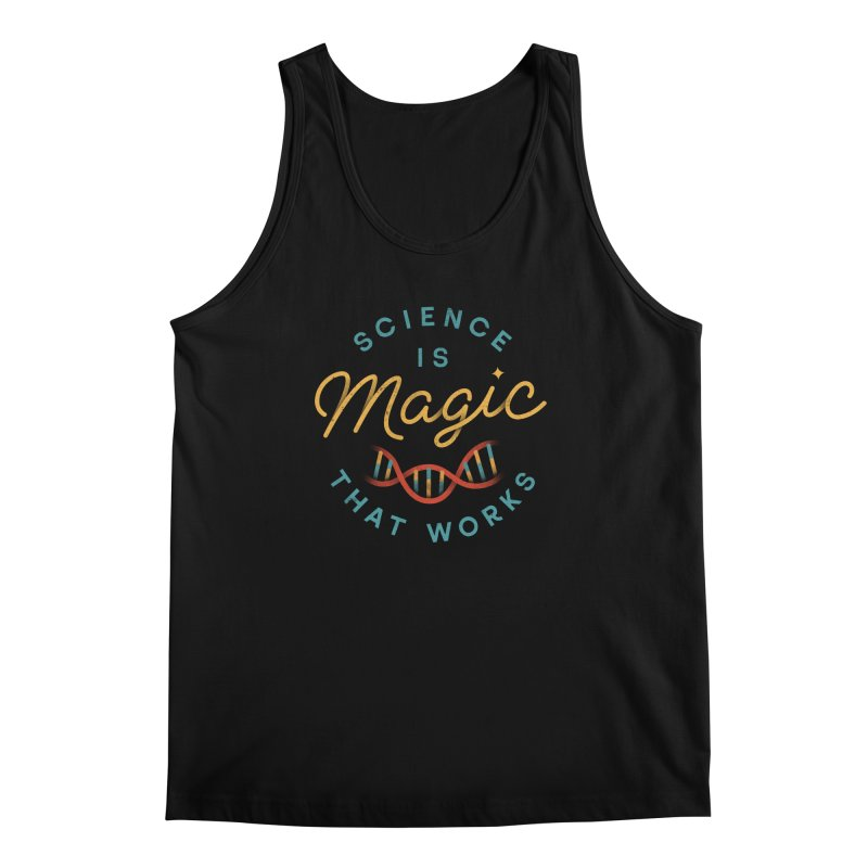 Science is Magic Men's Tank by csw