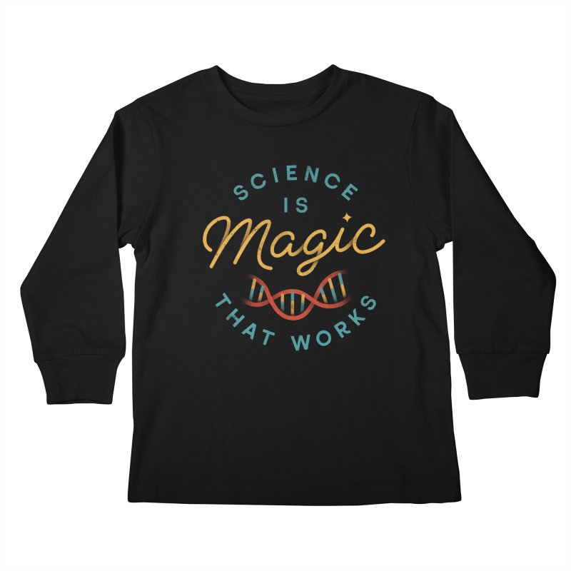 Science is Magic Kids Longsleeve T-Shirt by csw