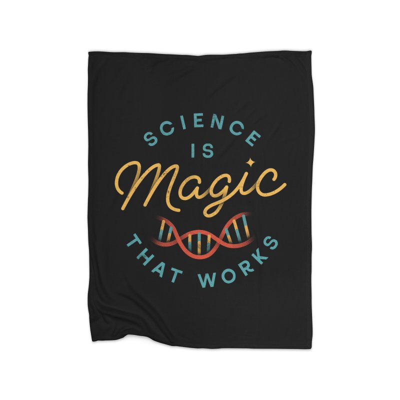 Science is Magic Home Blanket by csw
