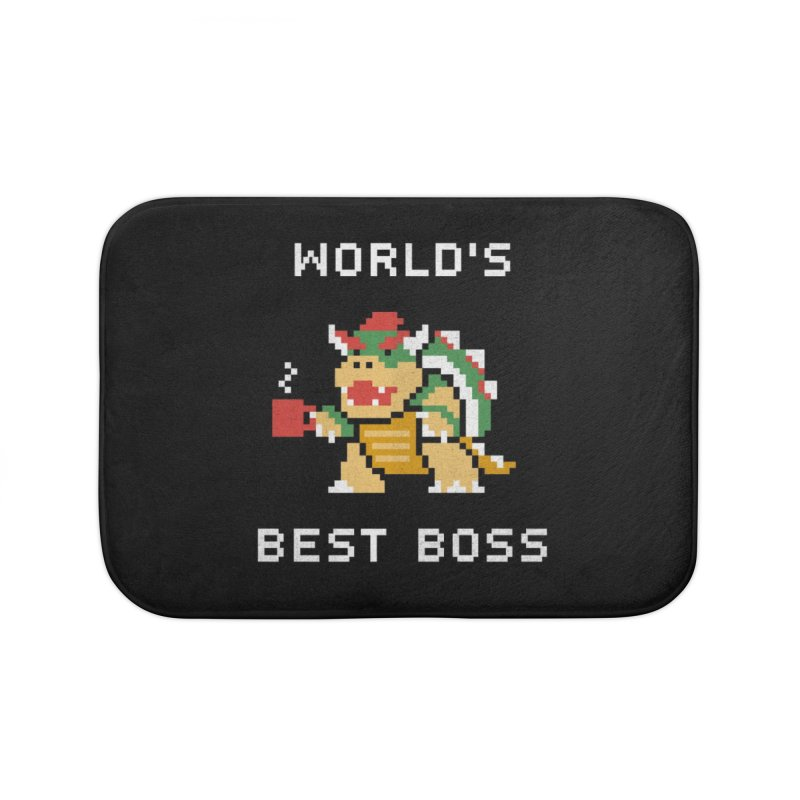 World's Best Boss Home Bath Mat by csw