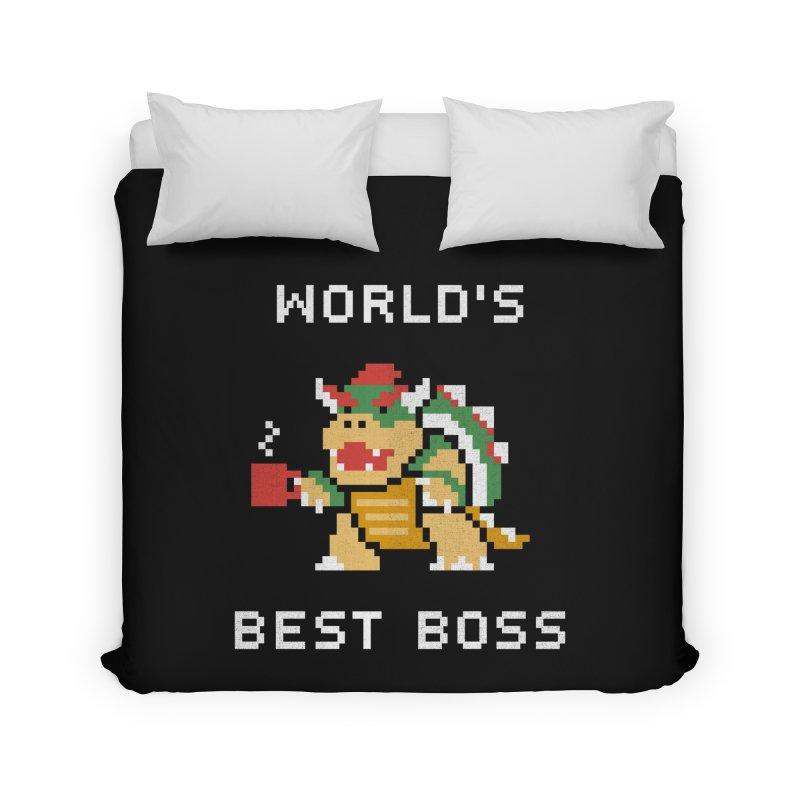 World's Best Boss Home Duvet by csw