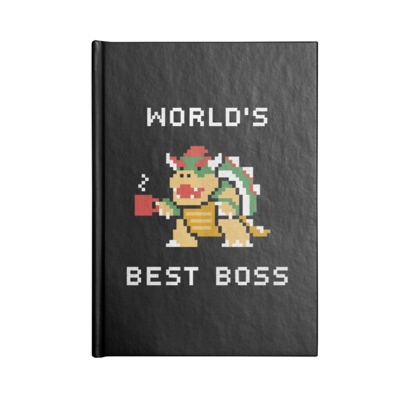 World's Best Boss Accessories Notebook by csw