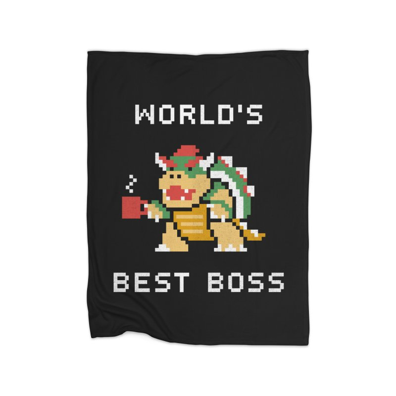 World's Best Boss Home Blanket by csw