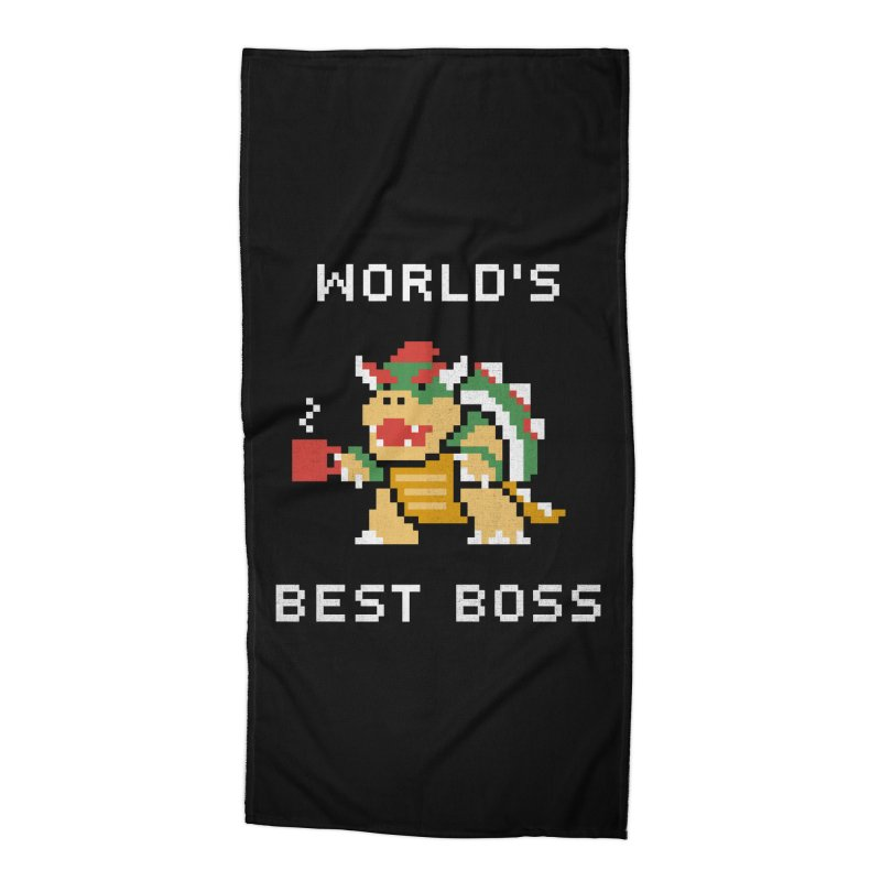 World's Best Boss Accessories Beach Towel by csw