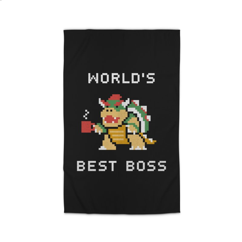 World's Best Boss Home Rug by csw