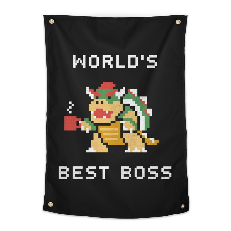 World's Best Boss Home Tapestry by csw