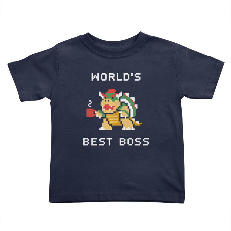World's Best Boss Kids Toddler T-Shirt by csw