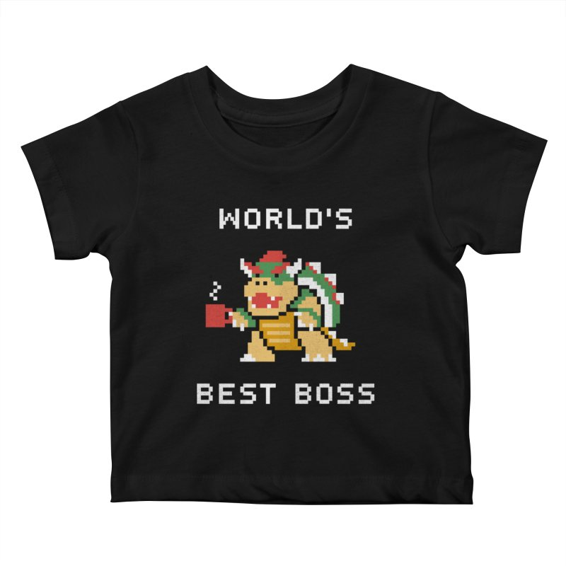 World's Best Boss Kids Baby T-Shirt by csw