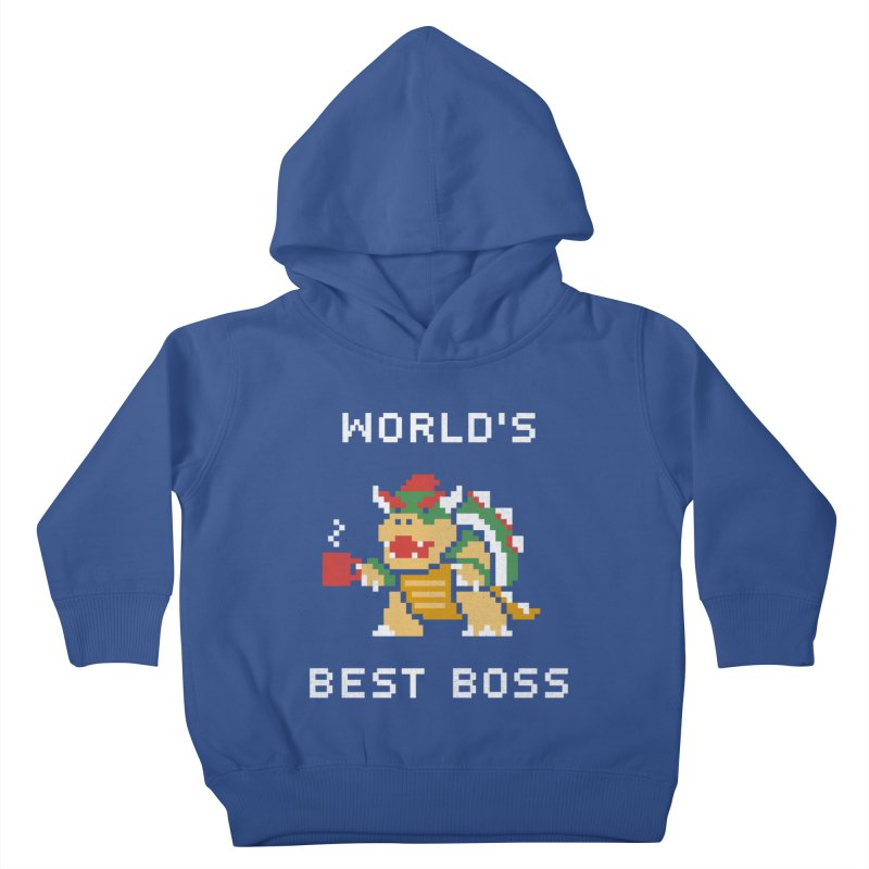 World's Best Boss Kids Toddler Pullover Hoody by csw