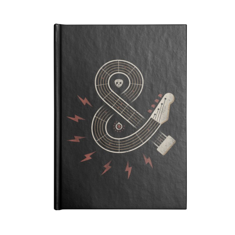 Rock & Roll Accessories Notebook by csw