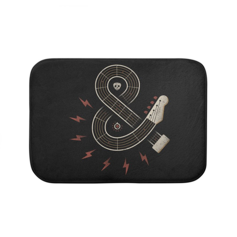 Rock & Roll Home Bath Mat by csw
