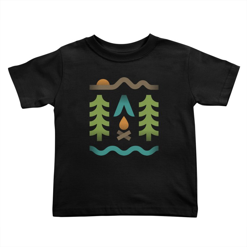 Simple Pleasures Kids Toddler T-Shirt by csw