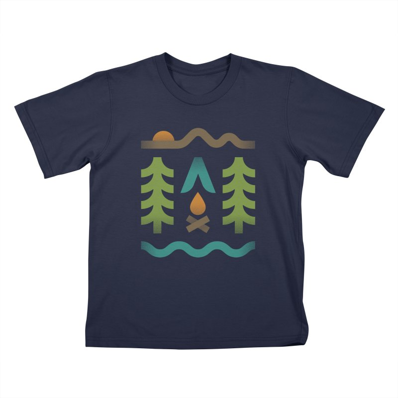 Simple Pleasures Kids T-shirt by csw