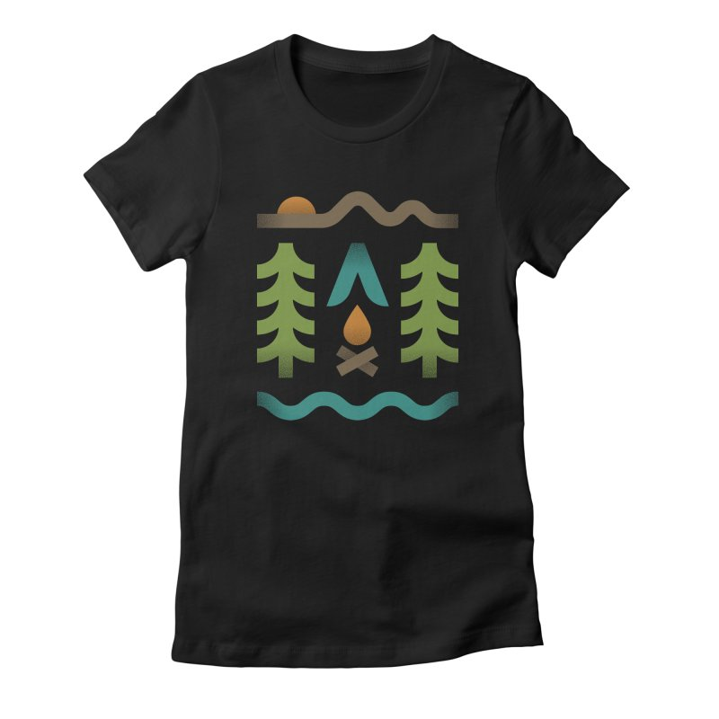 Simple Pleasures Women's Fitted T-Shirt by csw