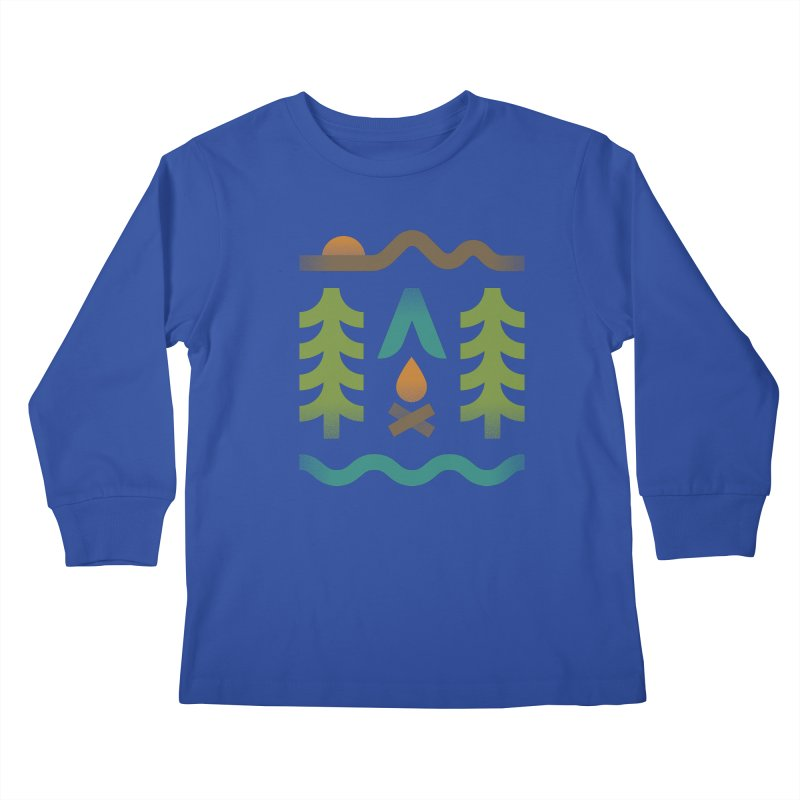 Simple Pleasures Kids Longsleeve T-Shirt by csw