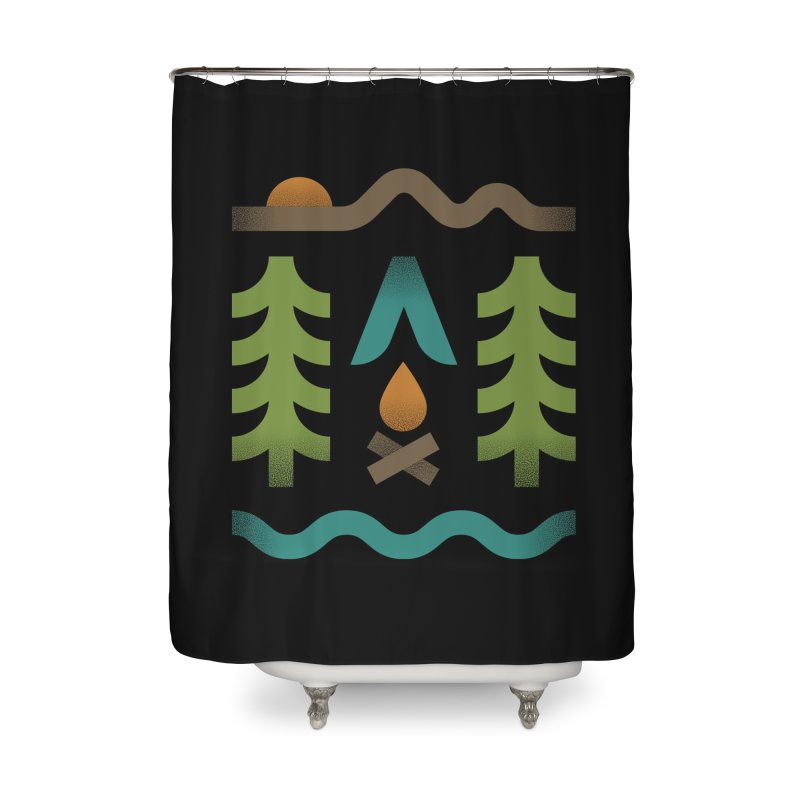 Simple Pleasures Home Shower Curtain by csw