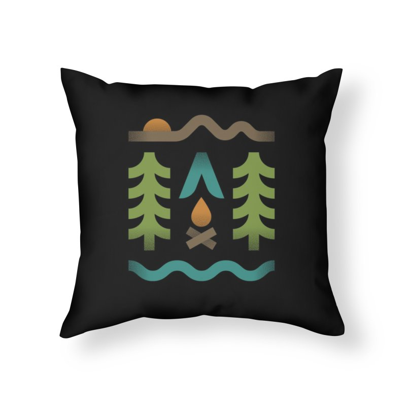 Simple Pleasures Home Throw Pillow by csw