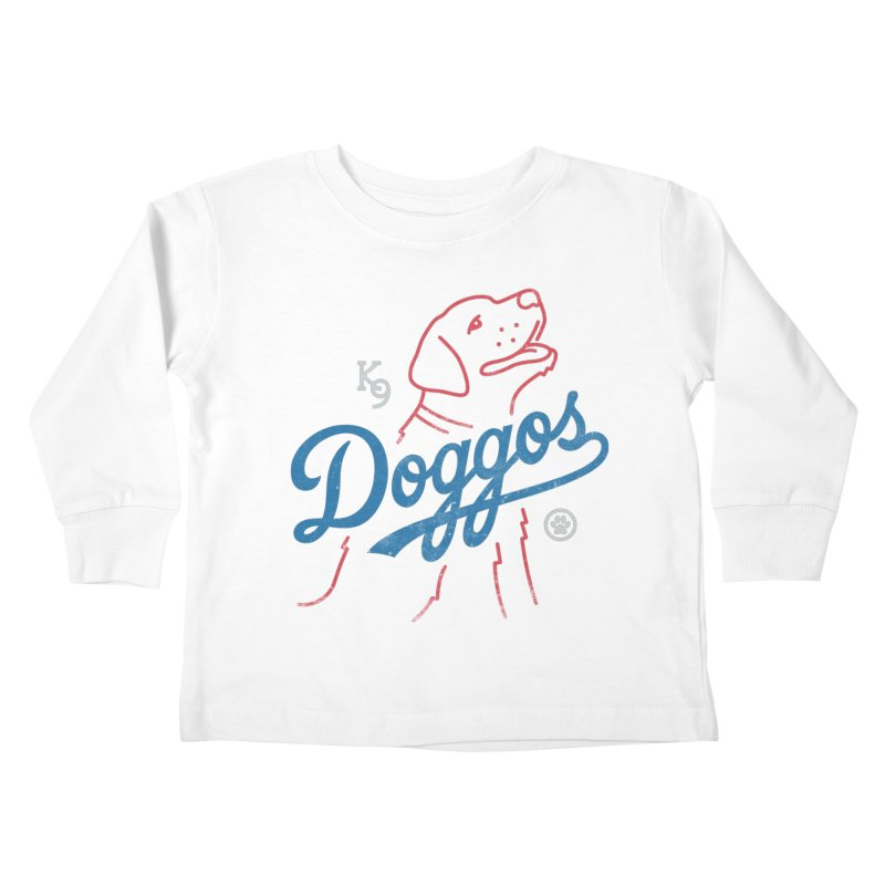 Doggos Kids Toddler Longsleeve T-Shirt by csw