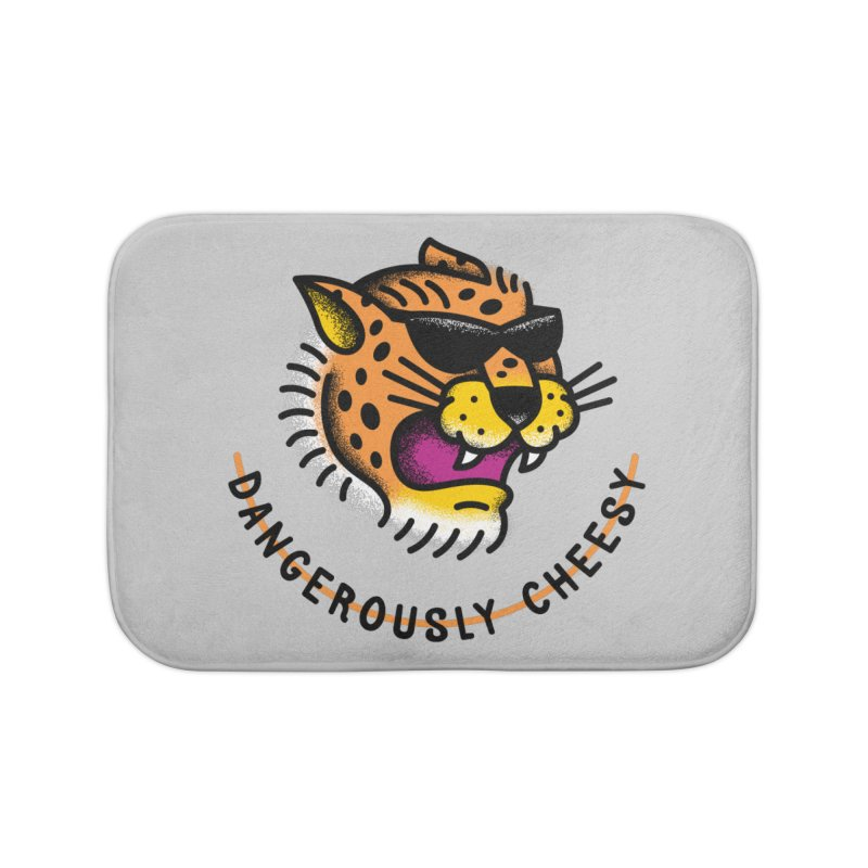 Dangerously Cheesy Home Bath Mat by csw