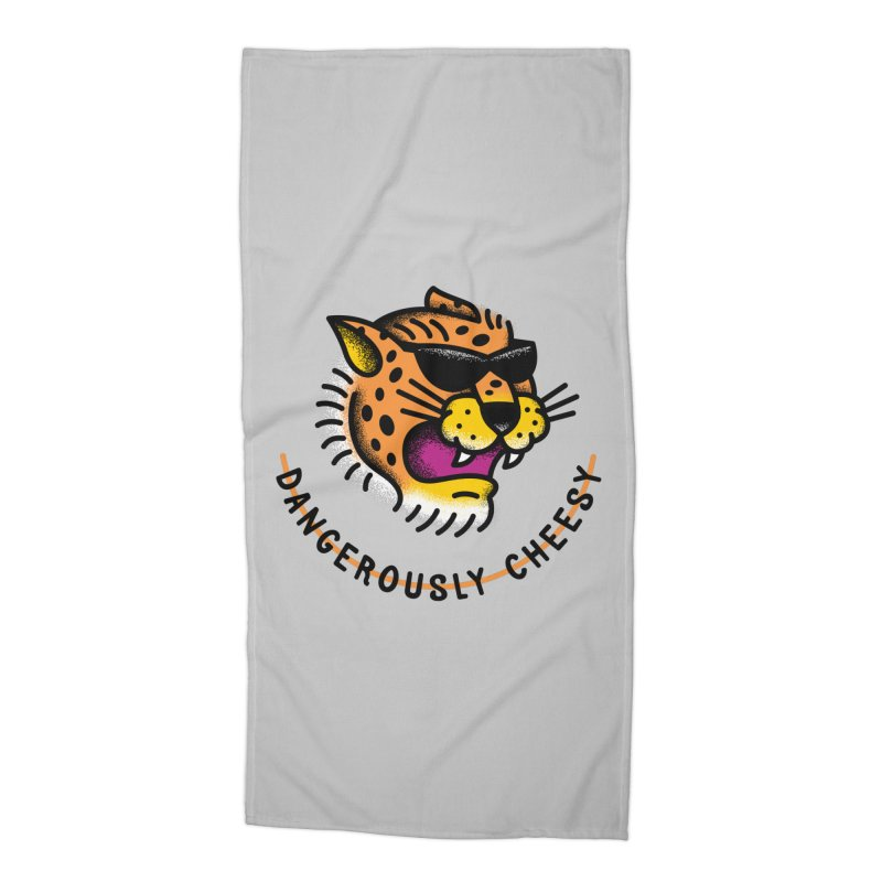 Dangerously Cheesy Accessories Beach Towel by csw