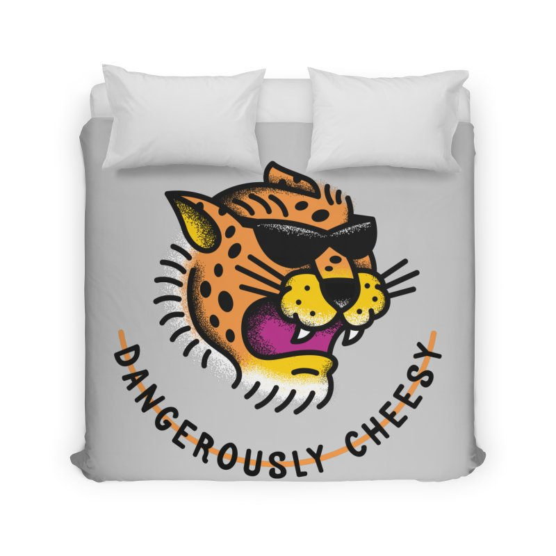 Dangerously Cheesy Home Duvet by csw