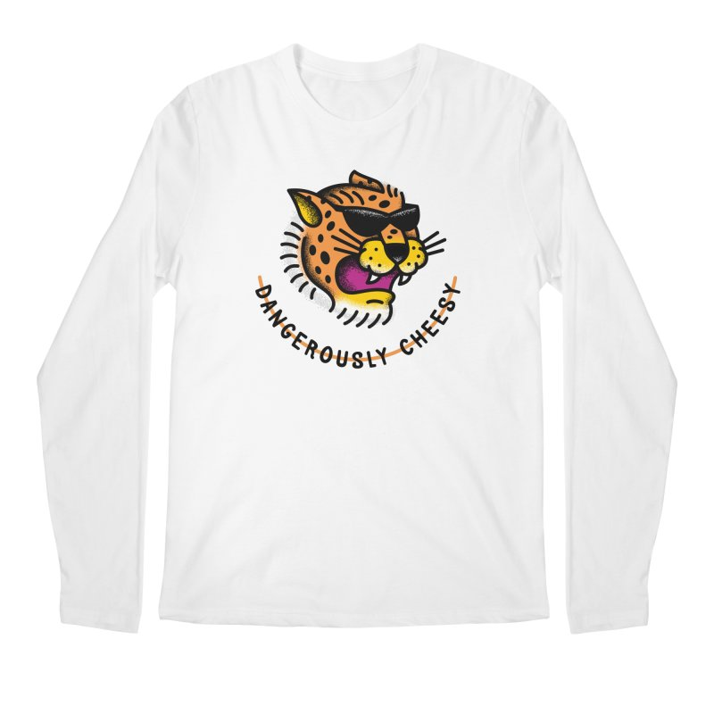 Dangerously Cheesy Men's Longsleeve T-Shirt by csw