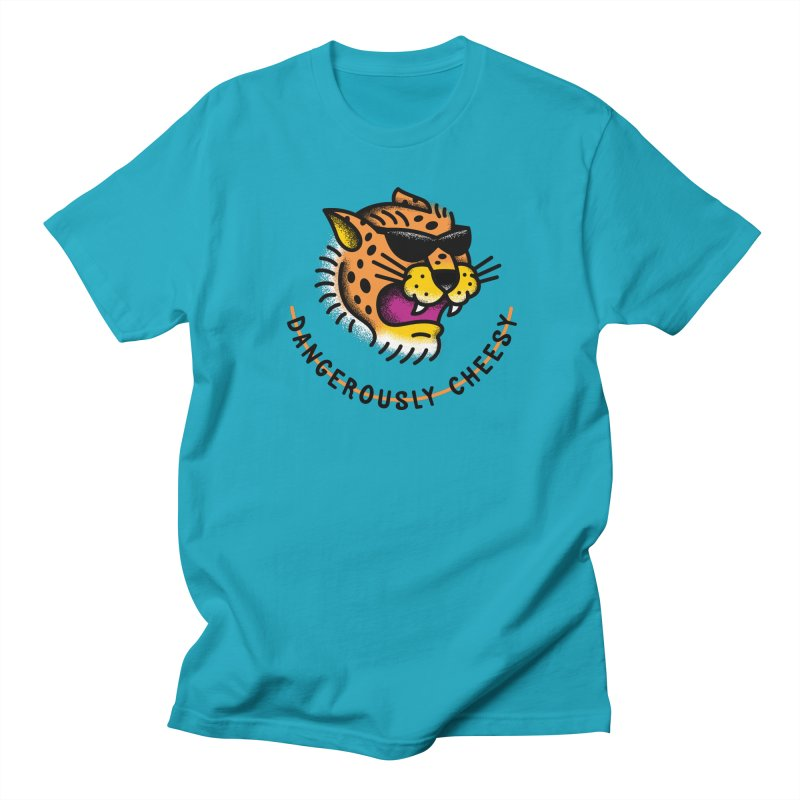 Dangerously Cheesy Women's Unisex T-Shirt by csw