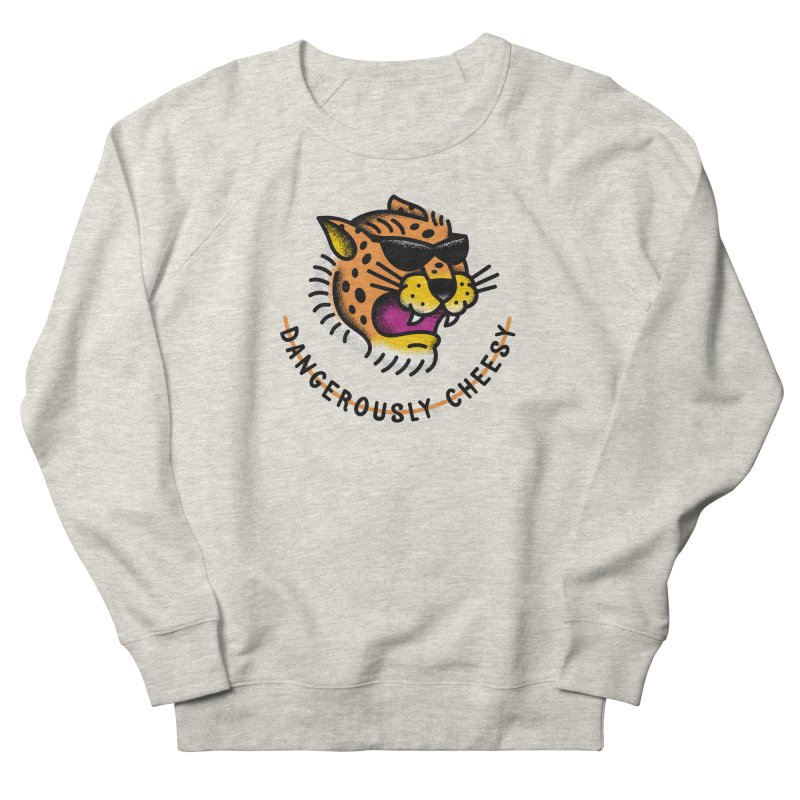 Dangerously Cheesy Men's Sweatshirt by csw