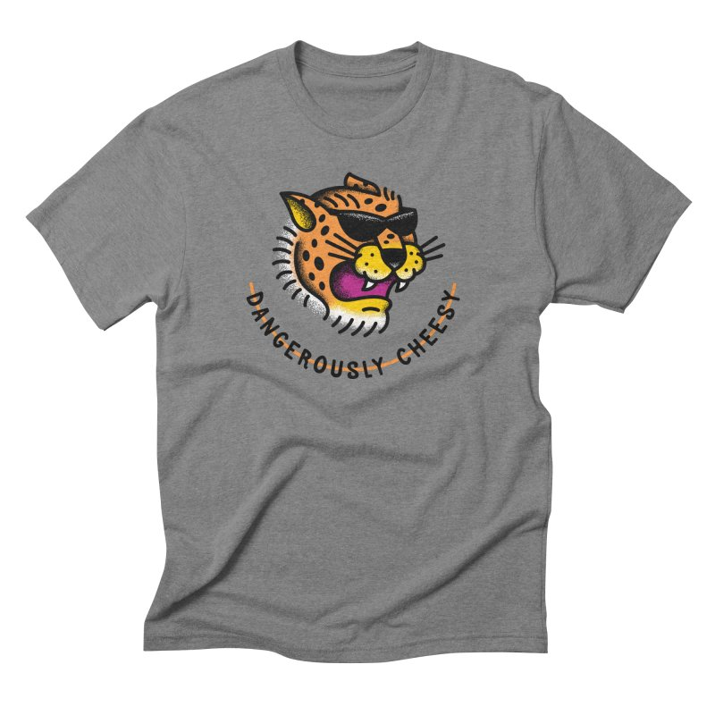 Dangerously Cheesy Men's Triblend T-shirt by csw