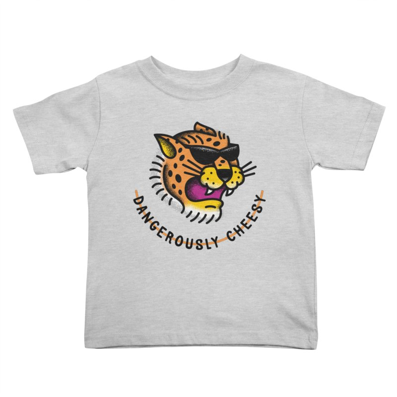 Dangerously Cheesy Kids Toddler T-Shirt by csw