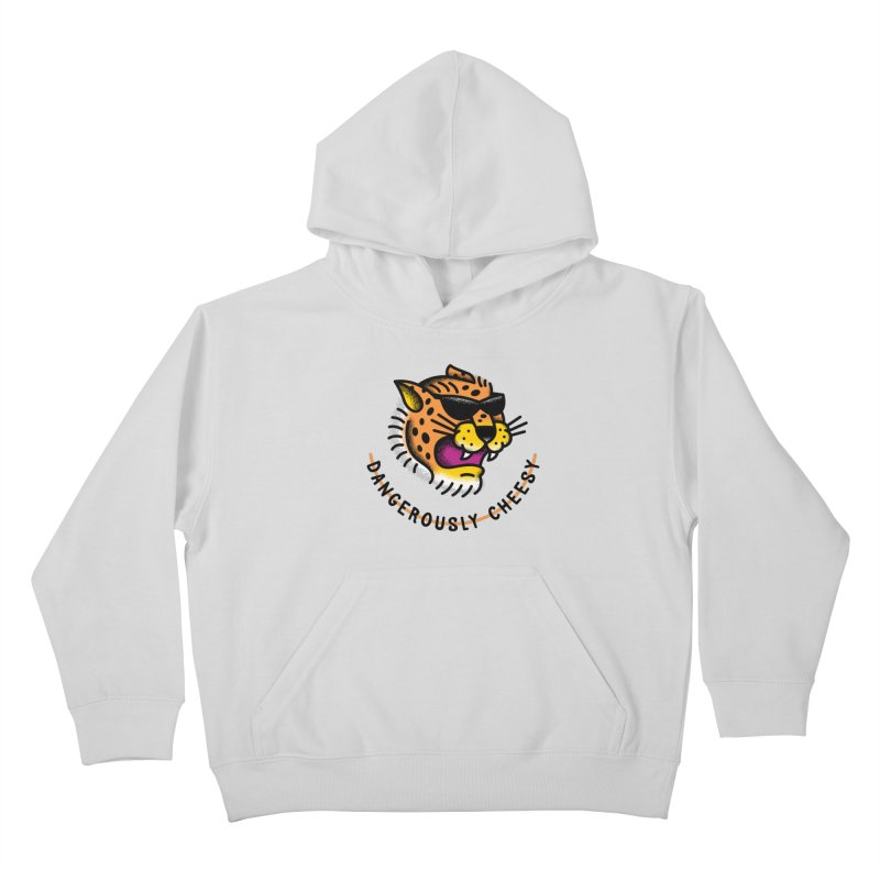 Dangerously Cheesy Kids Pullover Hoody by csw