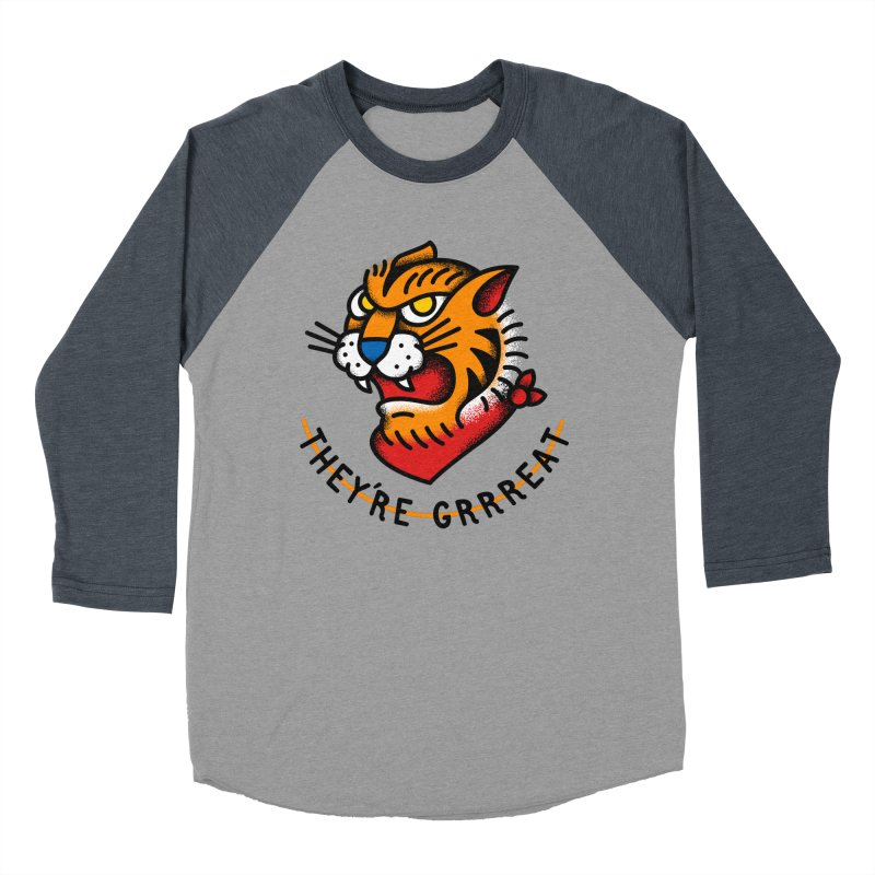 More Than Good Women's Baseball Triblend T-Shirt by csw