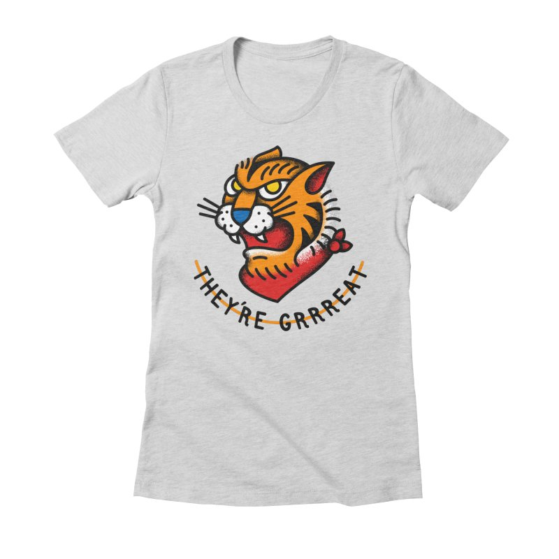 More Than Good Women's Fitted T-Shirt by csw