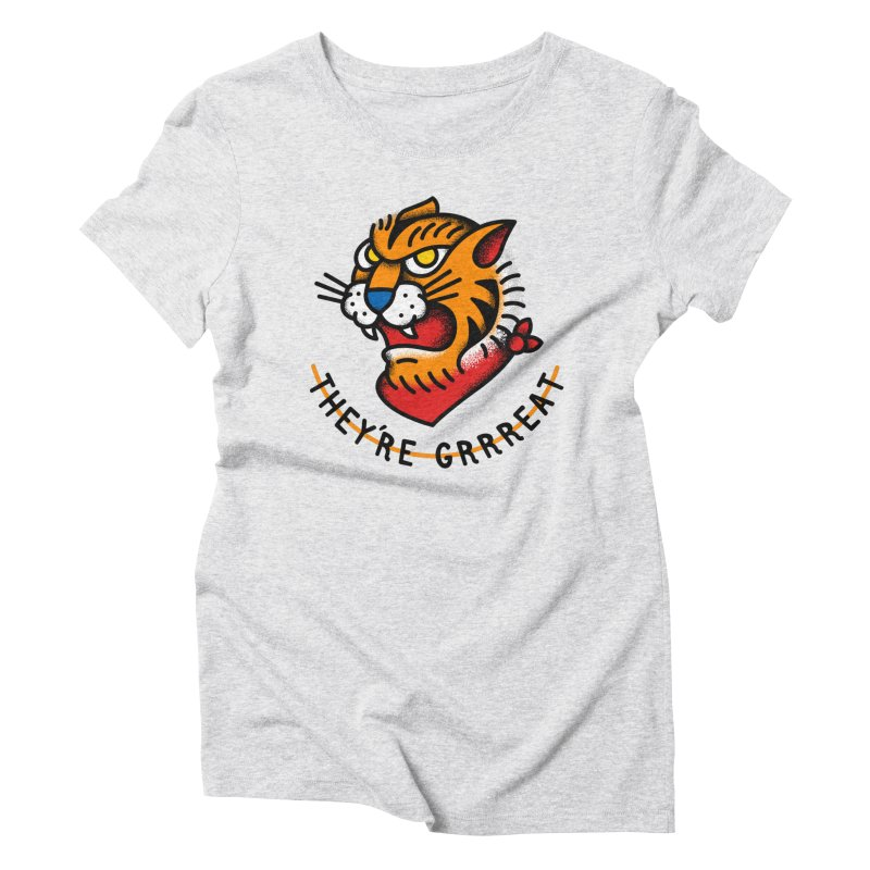 More Than Good Women's Triblend T-shirt by csw