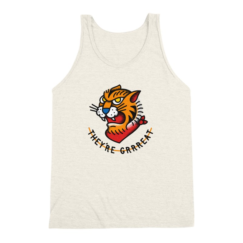 More Than Good Men's Triblend Tank by csw