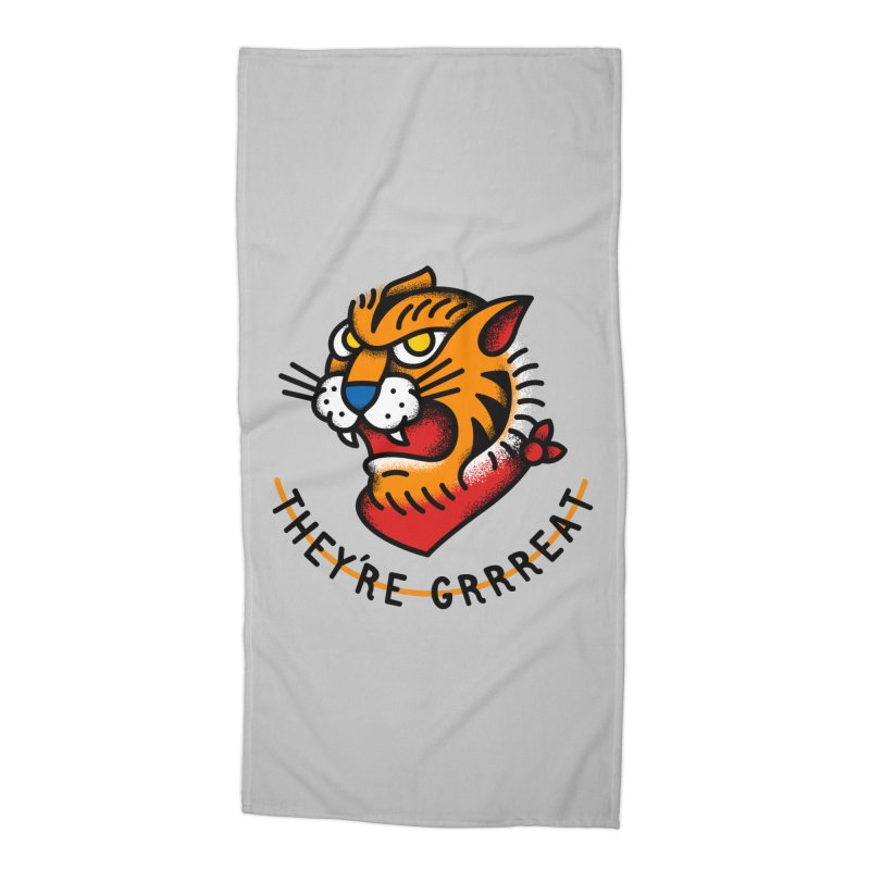 More Than Good Accessories Beach Towel by csw