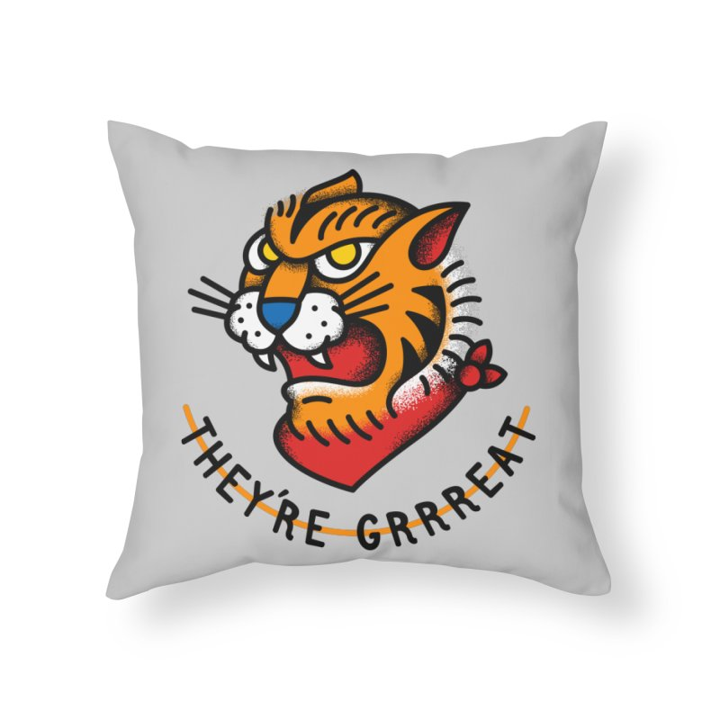 More Than Good Home Throw Pillow by csw