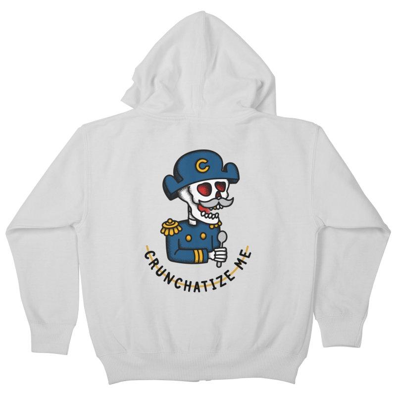 Crunchatize Me Kids Zip-Up Hoody by csw