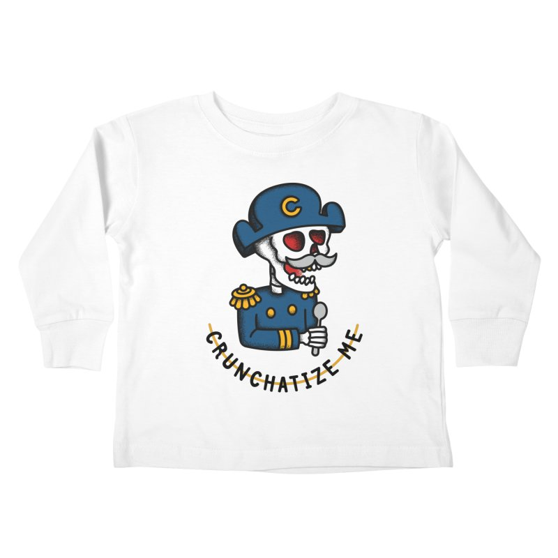 Crunchatize Me Kids Toddler Longsleeve T-Shirt by csw