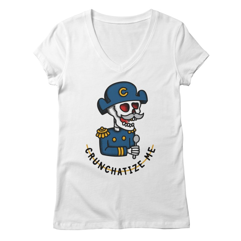 Crunchatize Me Women's V-Neck by csw