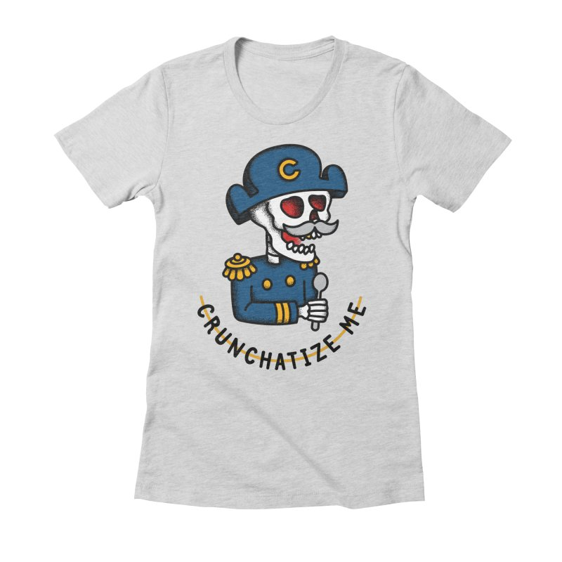 Crunchatize Me Women's Fitted T-Shirt by csw