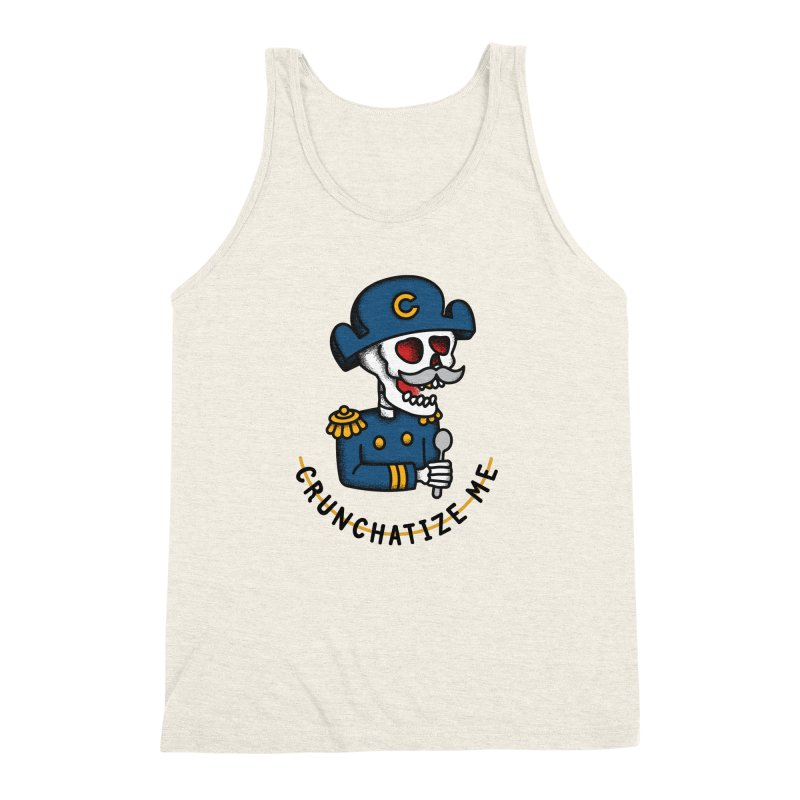 Crunchatize Me Men's Triblend Tank by csw
