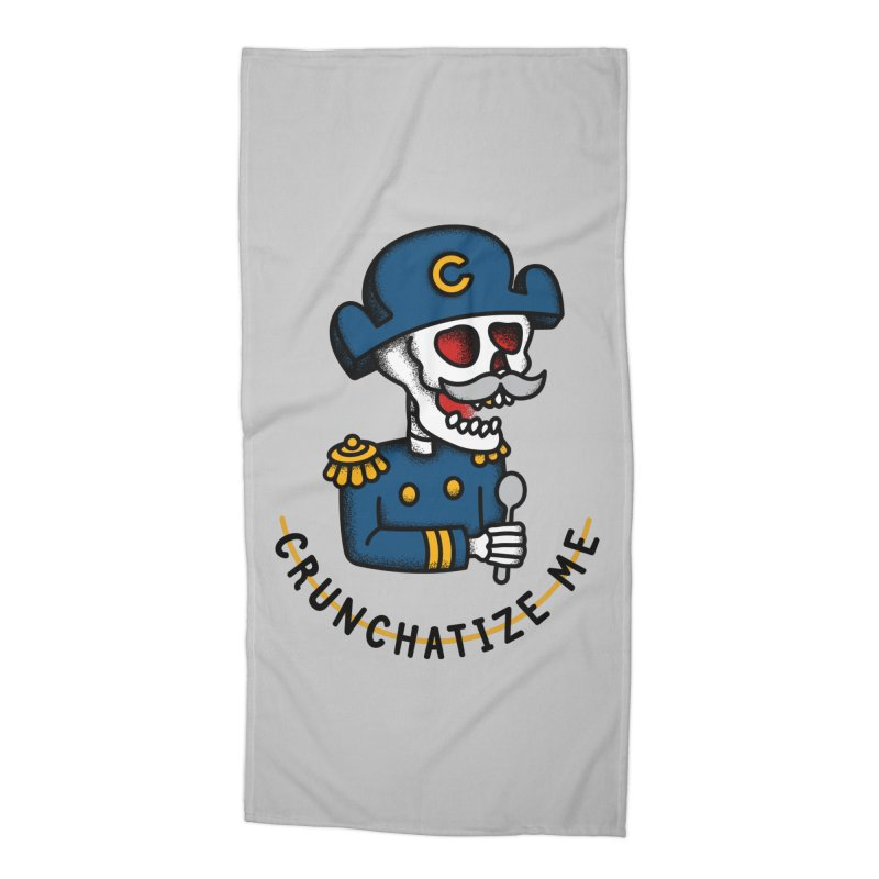 Crunchatize Me Accessories Beach Towel by csw