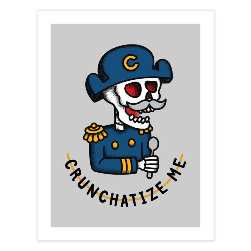 Crunchatize Me Home Fine Art Print by csw