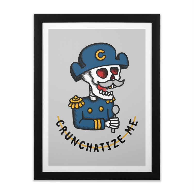 Crunchatize Me Home Framed Fine Art Print by csw