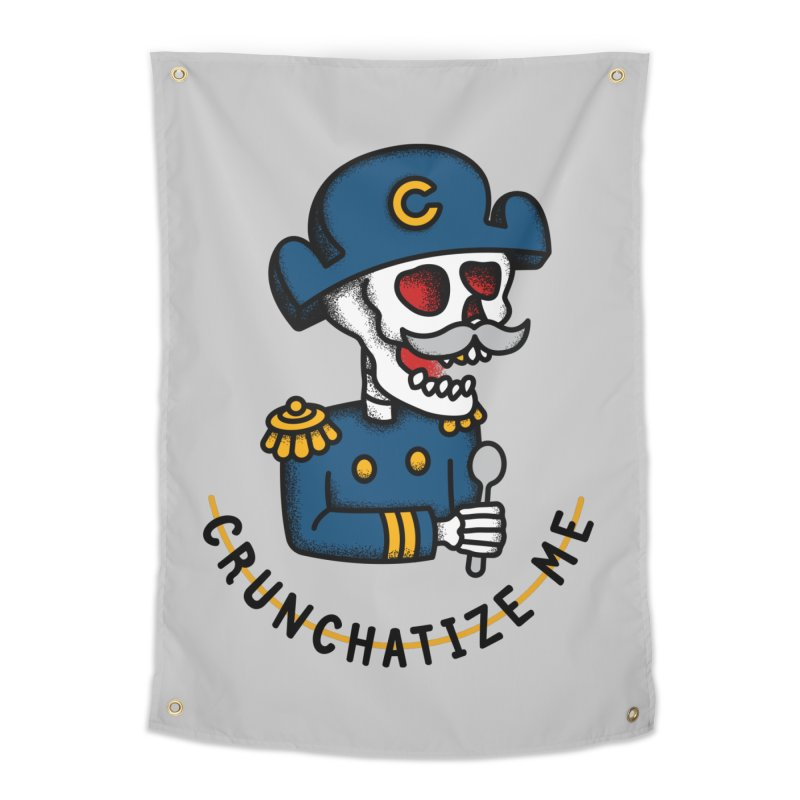 Crunchatize Me Home Tapestry by csw