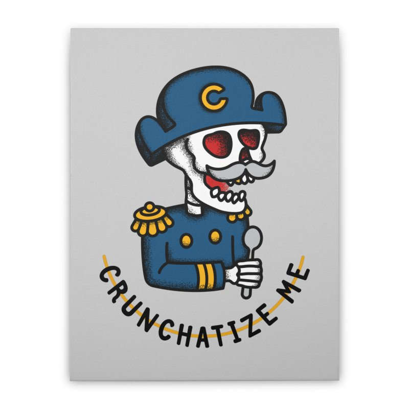Crunchatize Me Home Stretched Canvas by csw